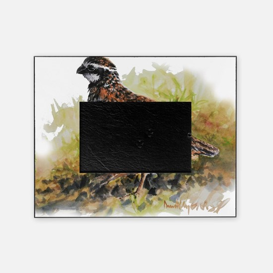 Cute Quail Picture Frame