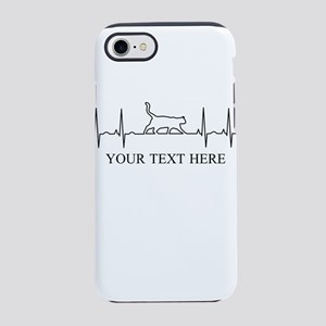 Custom Text Cat Lover iPhone 8/7 Tough Case