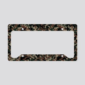 Military Action License Plate Holder