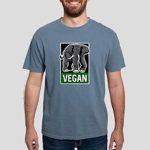 Vegan Elephant Mens Comfort Colors Shirt