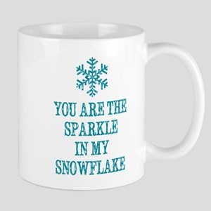 The Sparkle in My Snowflake Mugs