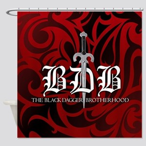 Bdb Red Shower Curtain