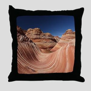 PETRIFIED SAND DUNES Throw Pillow