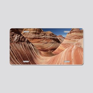 PETRIFIED SAND DUNES Aluminum License Plate