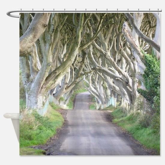 DARK HEDGES, IRELAND Shower Curtain