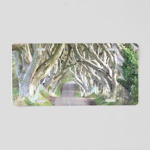 DARK HEDGES, IRELAND Aluminum License Plate