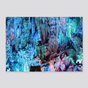 REED FLUTE CAVES 3 5'x7'Area Rug