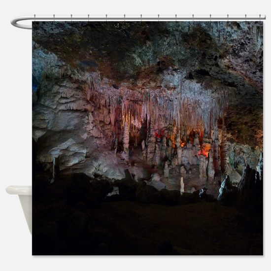 CAVES OF DRACH Shower Curtain