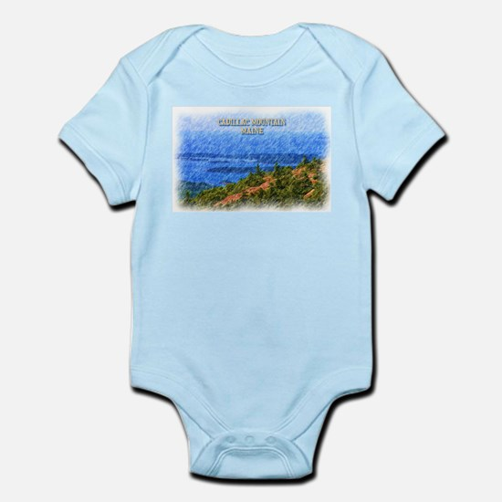 Cadillac Mountain, Maine Body Suit