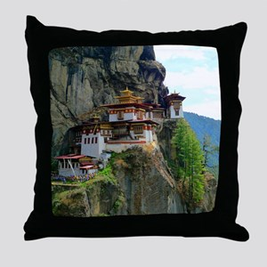 PARO TAKTSANG Throw Pillow
