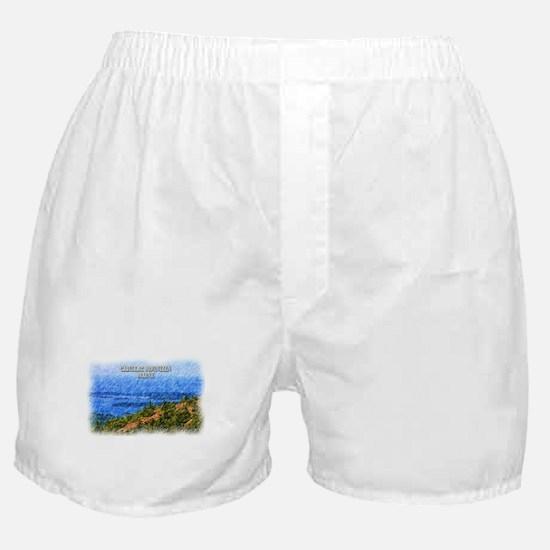Cadillac Mountain, Maine Boxer Shorts
