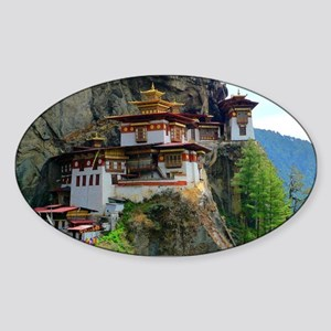 PARO TAKTSANG Sticker (Oval)
