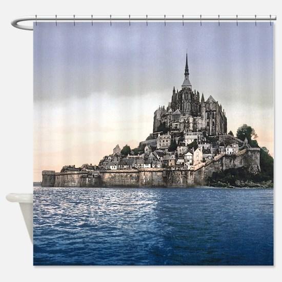 LE MONT ST MICHEL 2 Shower Curtain