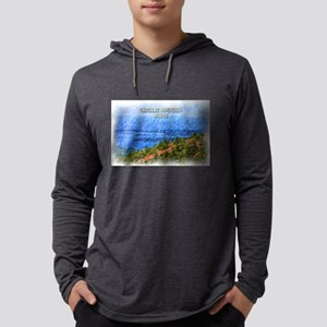 Cadillac Mountain, Maine Long Sleeve T-Shirt
