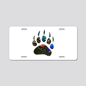 NEW TRACK Aluminum License Plate