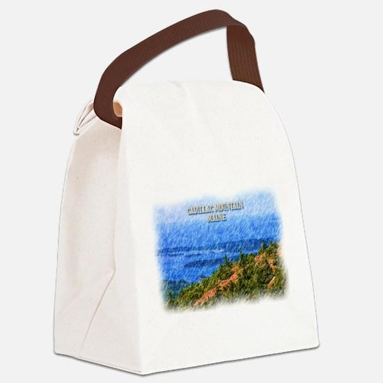 Cadillac Mountain, Maine Canvas Lunch Bag