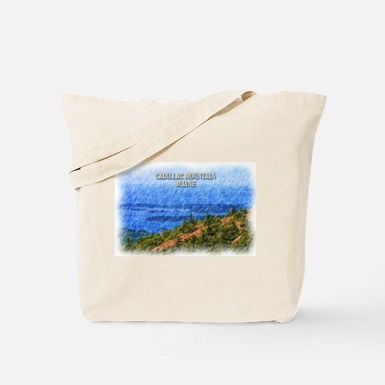 Cadillac Mountain, Maine Tote Bag