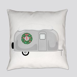Christmas Trailer Everyday Pillow