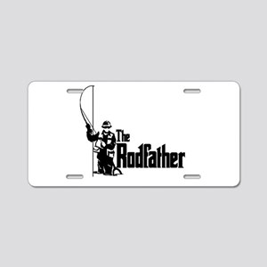 The Rodfather Fun Fishing Quote for him Aluminum L