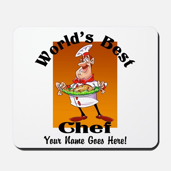 Worlds Best Chef Mousepad