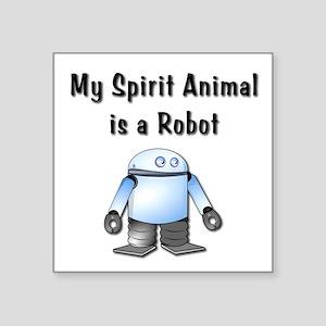 Spirit Robot Sticker