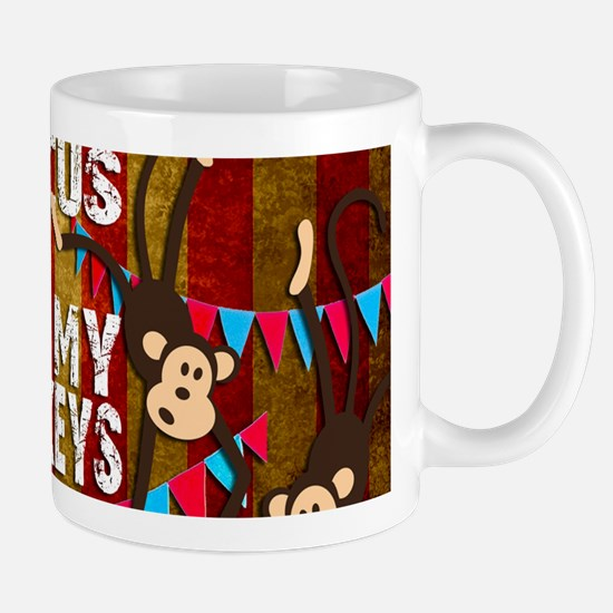 Monkeys NOT My Circus Mugs