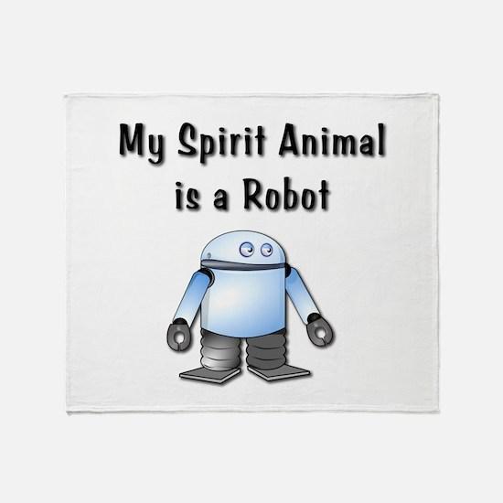 Spirit Robot Throw Blanket