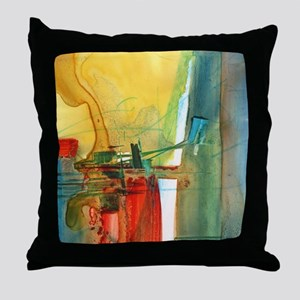Leaning In Throw Pillow