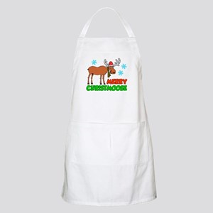 Merry Christmoose Apron