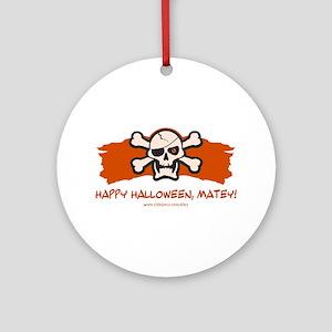 Halloween Matey Ornament (Round)