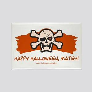 Halloween Matey Rectangle Magnet
