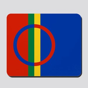 Scandinavia Sami Flag Mousepad
