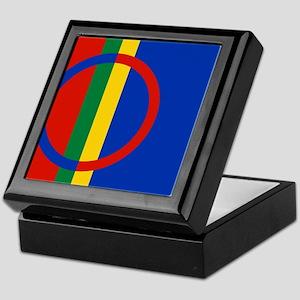 Scandinavia Sami Flag Keepsake Box
