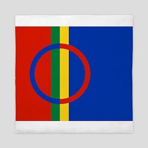Scandinavia Sami Flag Queen Duvet