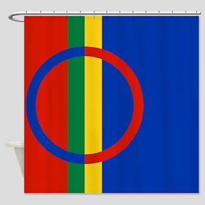Scandinavia Sami Flag Shower Curtain