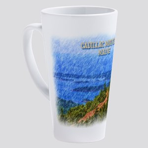 Cadillac Mountain, Maine 17 oz Latte Mug