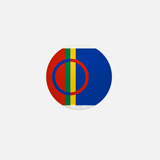 Scandinavia Sami Flag Mini Button