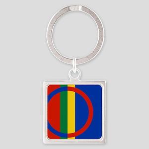Scandinavia Sami Flag Keychains