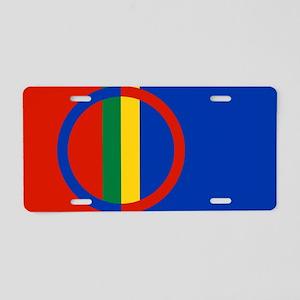 Scandinavia Sami Flag Aluminum License Plate