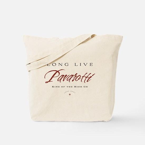 Pavarotti Tote Bag