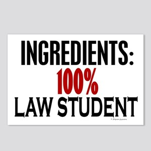 Ingredients: Law Student Postcards (Package of 8)