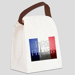 PARIS FRANCE EIFFEL TOWER Canvas Lunch Bag
