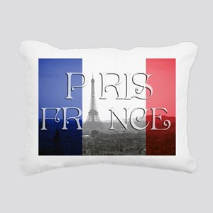 PARIS FRANCE EIFFEL TOWE Rectangular Canvas Pillow