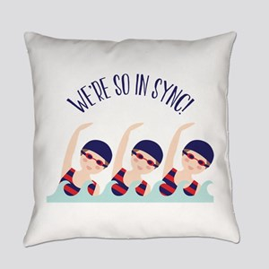 Were So in Sync Everyday Pillow