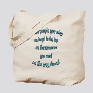 Getting to the Top Tote Bag