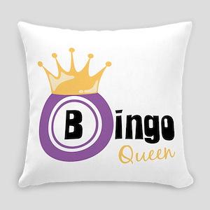 Bingo Queen Everyday Pillow