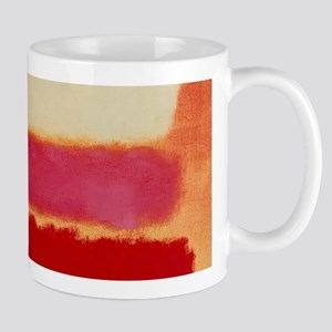 ROTHKO WHITE RED PINK Mugs