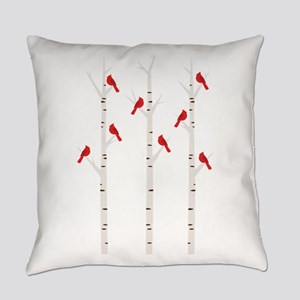 Cardinals in Trees Everyday Pillow