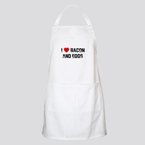 I * Bacon And Eggs BBQ Apron