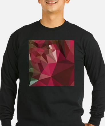 Jazzberry Jam Purple Abstract Low Polygon Backgrou